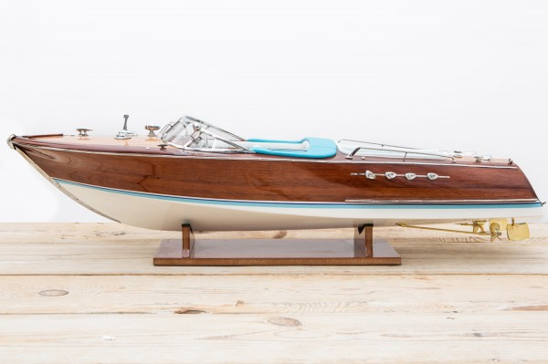 Modell Rennboot Holz, 86cm