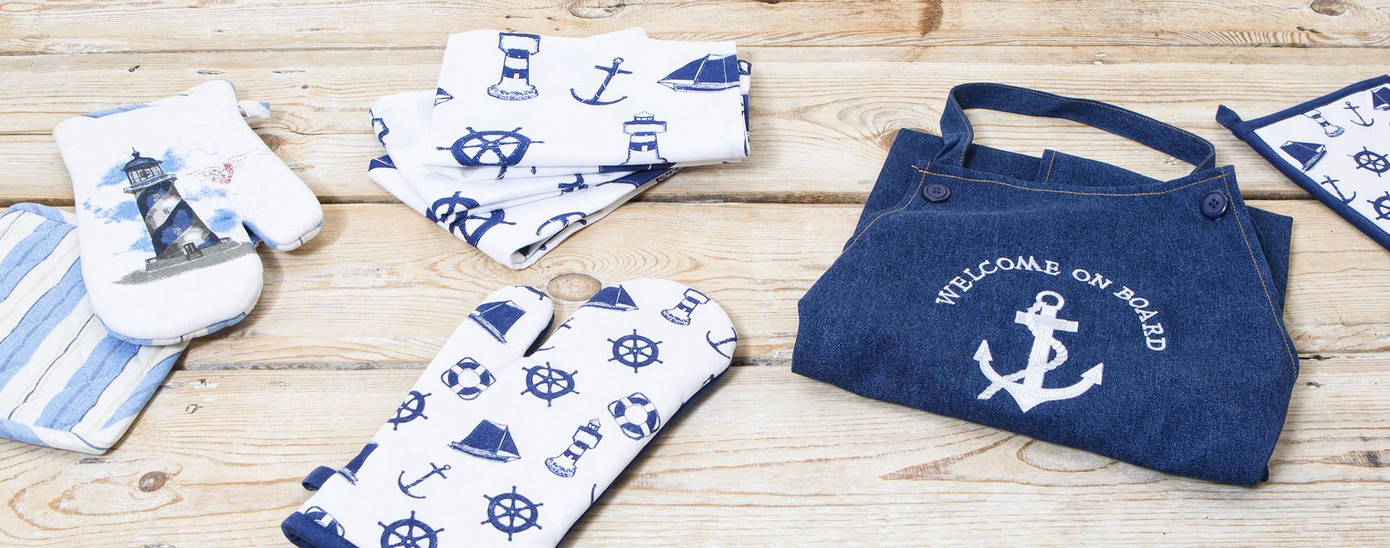 Küchentextilien   Online Shop   Maritim   Jetzt Bestellen   mare-me ... 53cb7ad7ac