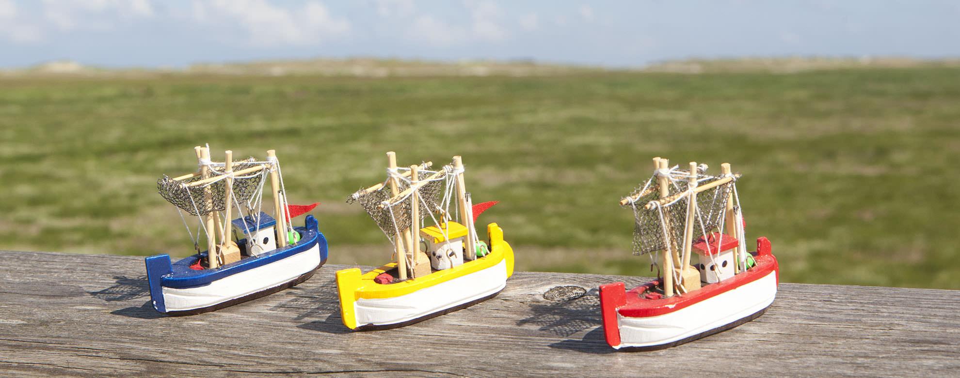 Fischerboote / Krabbenkutter
