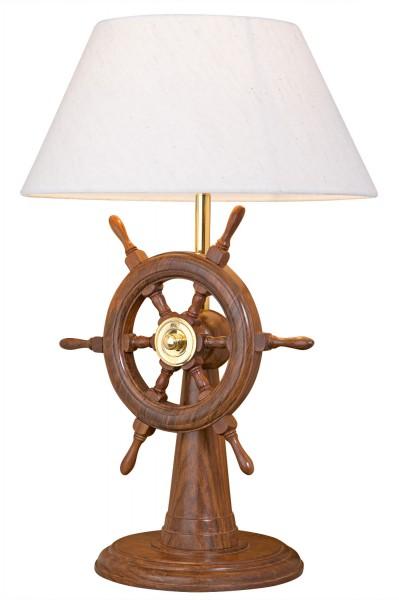 Wandleuchte Chrom aus Messing Steuerrad Schiff maritime Lampe Badezimmer Flur