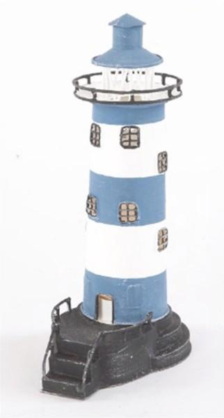 Blau weiß Leuchtturm Treppe