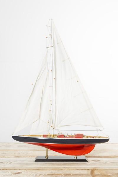 Modell Segelschiff rot, marine