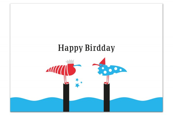 Grußpostkarte von Chatlab Happy Birthday