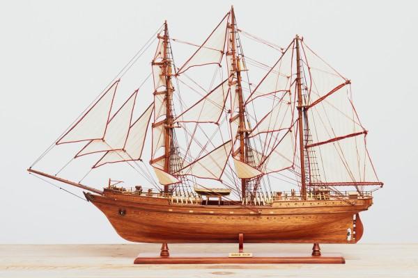 Modell Gorch Fock II natur
