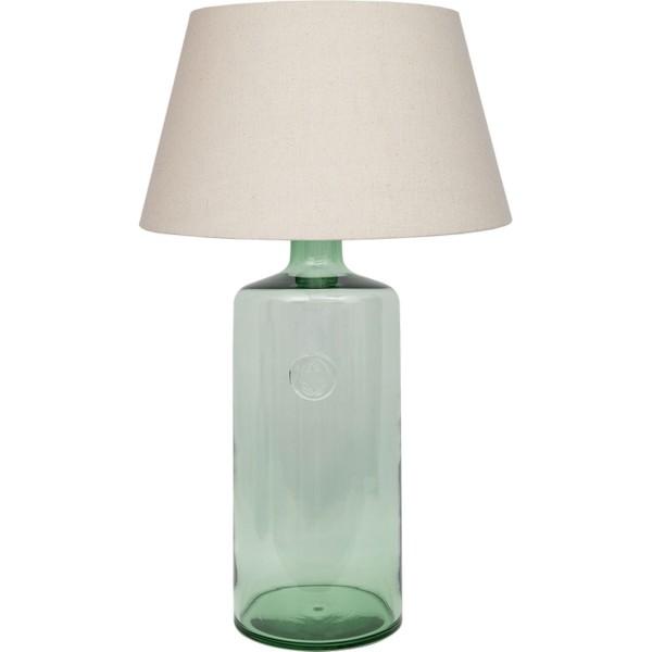 Tischleuchte vasenform grün
