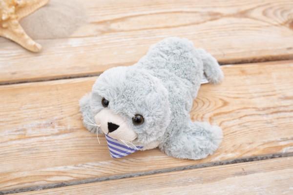 Kuscheltier Robbe grau 27cm