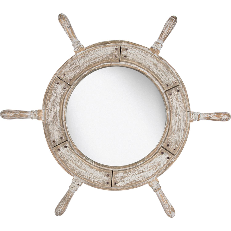 Spiegel steuerrad wei hier auf rechnung bestellen und liefern lassen mare me maritime - Spiegel anfertigen lassen ...
