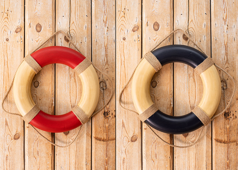 rettungsring 49cm deko rettungsring deko klassiker maritim dekorieren mare me maritime. Black Bedroom Furniture Sets. Home Design Ideas
