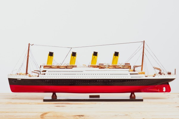 Schiffsmodell Titanic