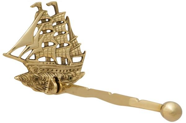 Klappbarer Kleiderhaken, Segelschiff
