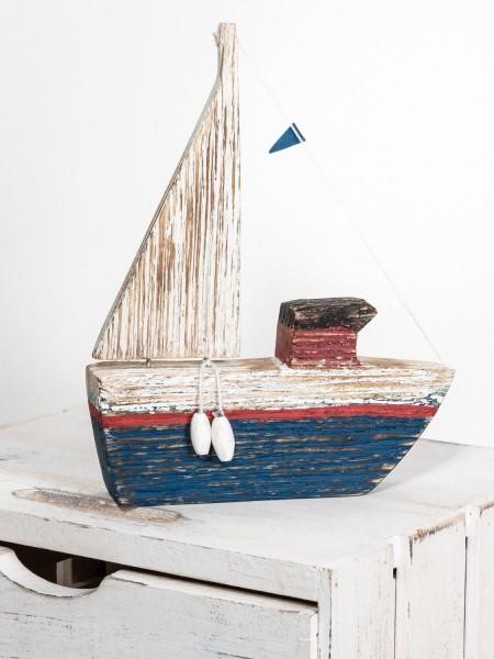 Deko Dampfschiff Holz