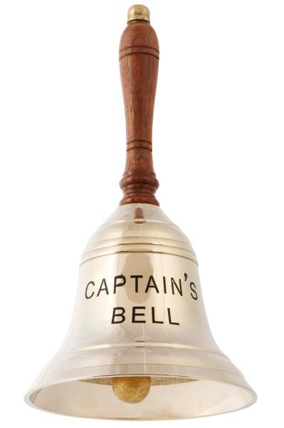 Messing Tischglocke 21cm, Captains Bell