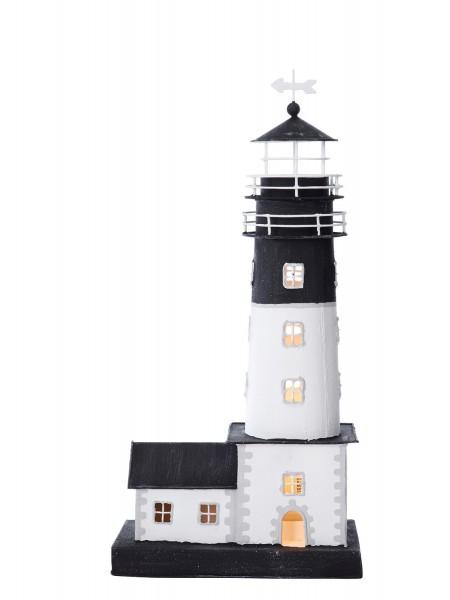 Leuchtturm mit Leuchtturmhaus