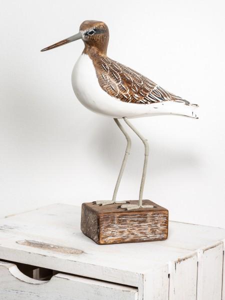 Deko Holzvogel Strandläufer
