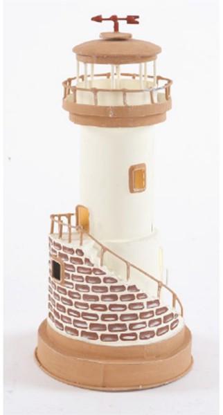 Leuchtturm beige Treppe