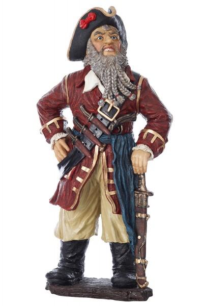 Dekoration, Piratenfigur, groß