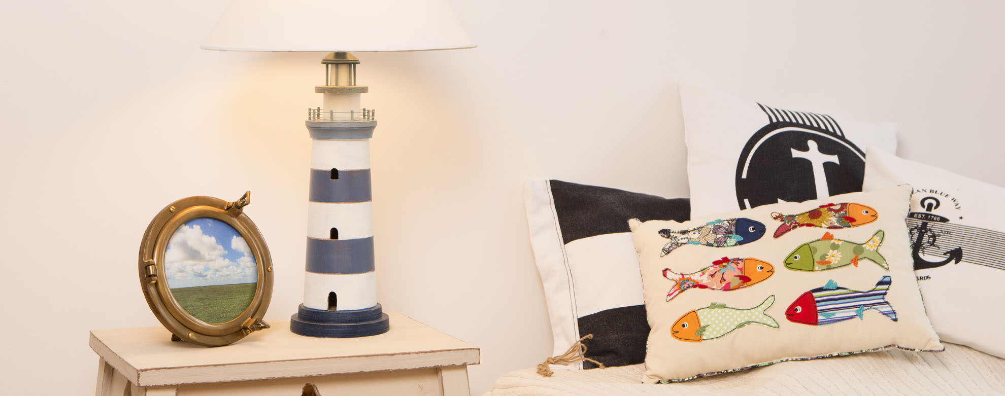 Leuchtturm Lampe