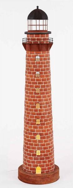Backstein Leuchtturm Deko