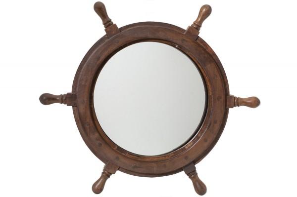 steuerrad spiegel steuerr der deko maritime standards maritime klassiker mare me. Black Bedroom Furniture Sets. Home Design Ideas