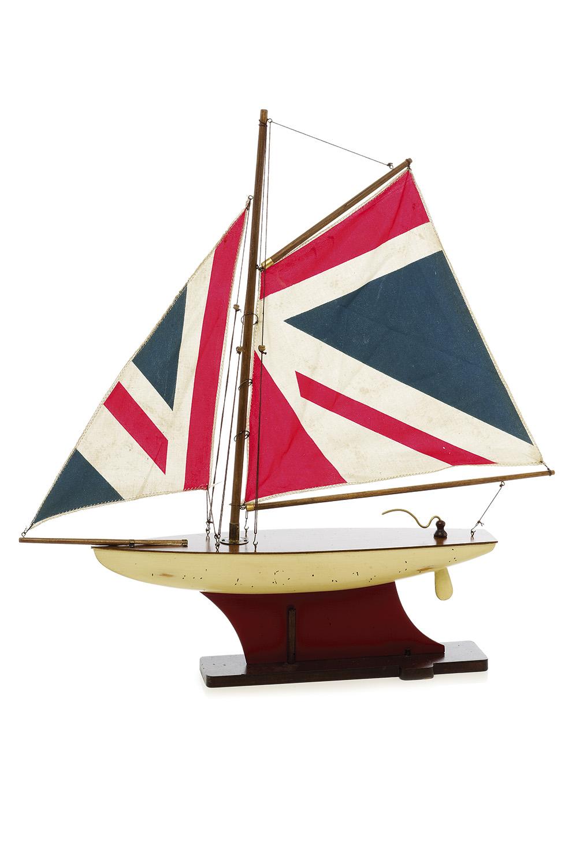Historische Segelyacht England Klein Modellschiffe
