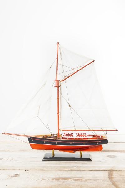 Modell Segelyacht rot, marine