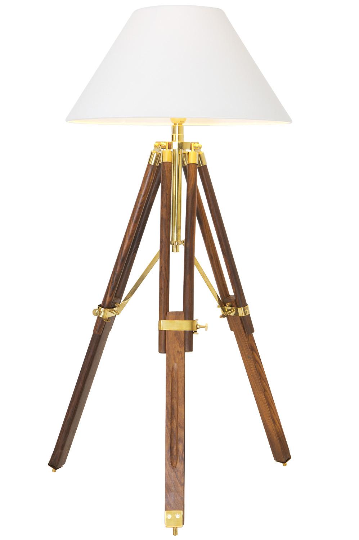 kleine stativlampe holz 94cm stativlampen stehlampen. Black Bedroom Furniture Sets. Home Design Ideas