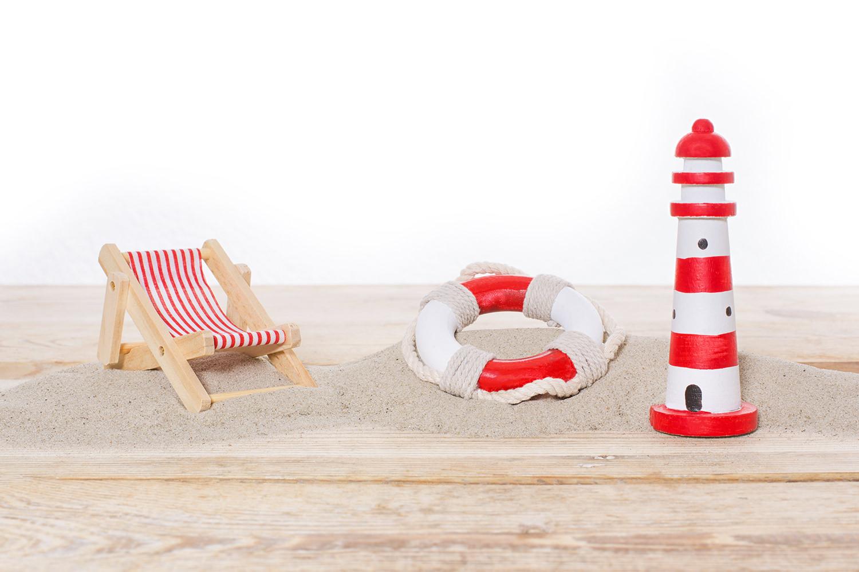 Maritimes dekoset liegestuhl deko nach themen maritim dekorieren mare me maritime - Holzpaddel deko ...