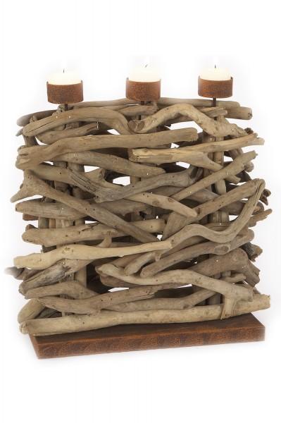 Treibholz kerzenst nder hoch deko treibholz Maritime deko figuren