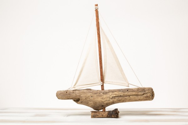 Deko Treibholzschiff