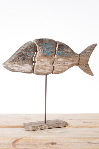Dekofisch Holz groß