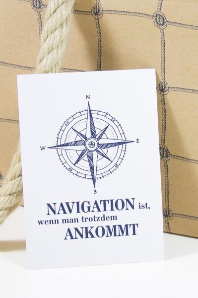 Postkarte Navigation