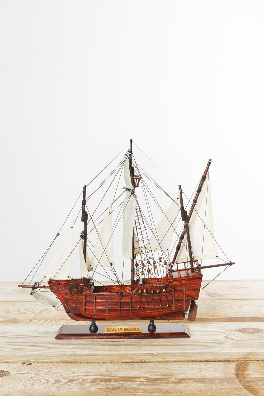 schiffsmodell santa maria historische schiffsmodelle. Black Bedroom Furniture Sets. Home Design Ideas