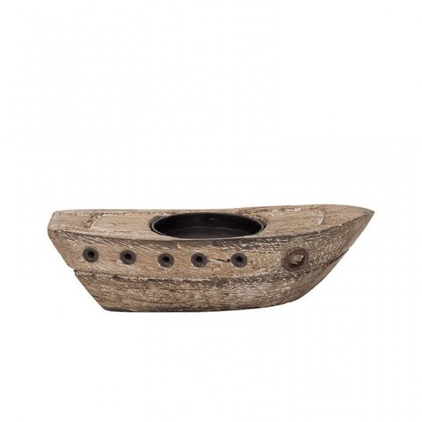 Teelicht Boot