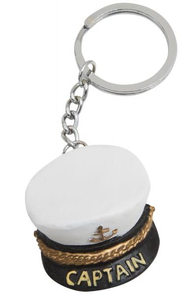 Schlüsselanhänger Kapitänsmütze