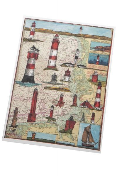 Ole West Postkarte Moin Küste