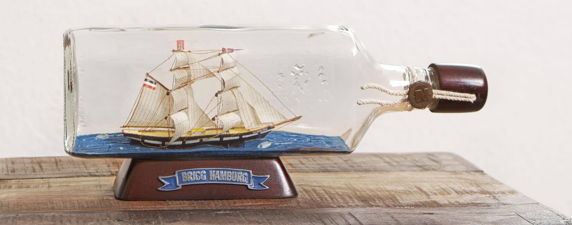 Premium Flaschenschiffe