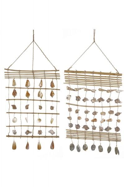 Muschelvorhang, 2-Set