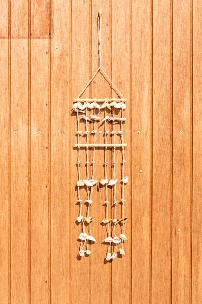 Muschelvorhang lang