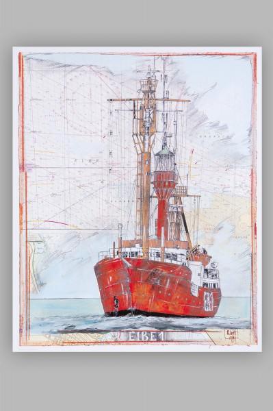 Kunstdruck, Elbe 1, klein
