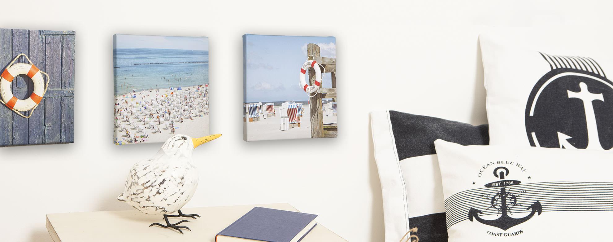 leinwandbilder nordsee online bestellen mare me maritime dekoration geschenke. Black Bedroom Furniture Sets. Home Design Ideas
