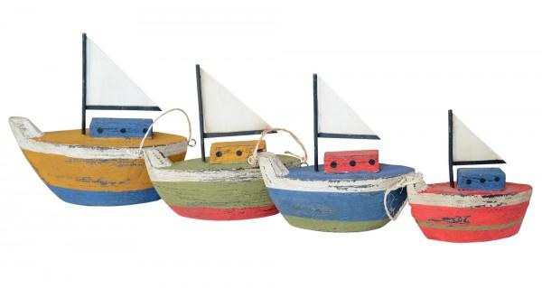 Bunte Segelboote