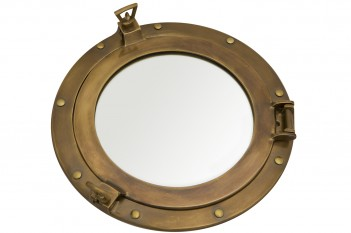Bullauge Spiegel, antik