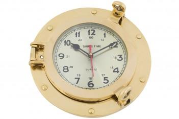 Uhr im Bullauge, klein