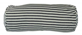 Nackenrolle gestreift blau weiß