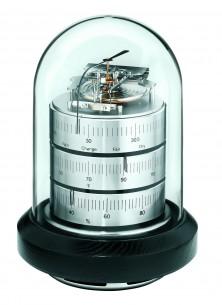 Barigo Säulen- Baro-/Thermo-/Hygrometer, vernickelt