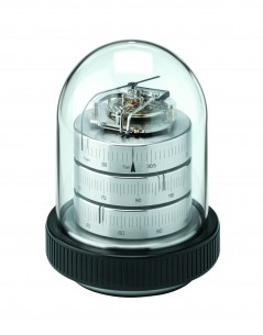 Barigo Säulen- Baro-/Thermo-/Hygrometer, vernickelt/klein