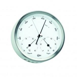 Barigo Baro-/Thermo-/Hygrometer, Edelstahl Ø10.2