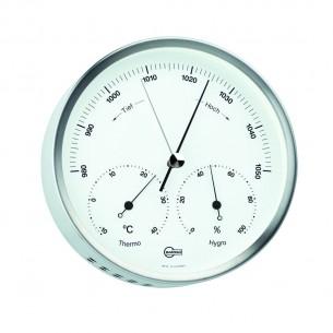 Barigo Edelstahl- Baro-/Thermo-/Hygrometer, Ø13.2