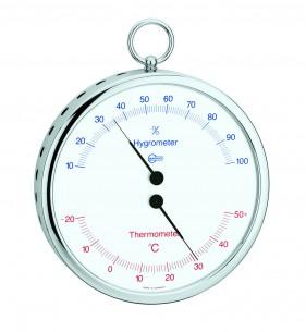 Barigo Hygro-/Thermometer, Ø13cm