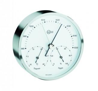 Barigo Baro-/Thermo-/Hygrometer, vernickelt